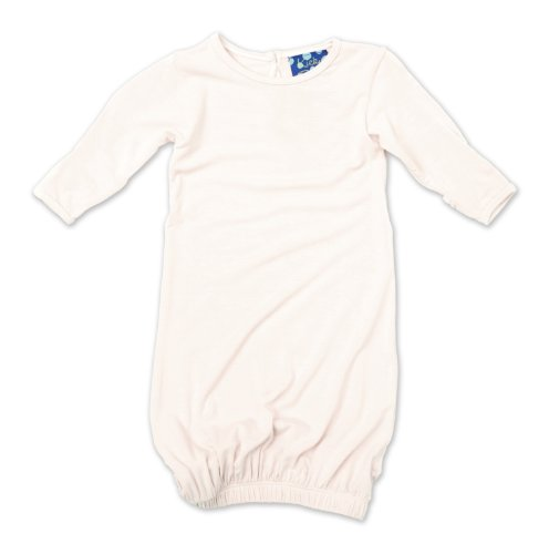 Kickee Pants Layette Gown, Natural, 3-6 Months front-382297
