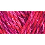 Prima Marketing Red Heart Shimmer Yarn, Lipstick