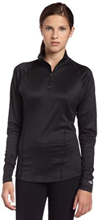Buy Duofold Ladies Midweight Long Sleeve Zip Mock by Duofold