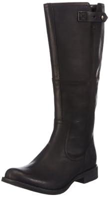Timberland Ek Savin Hill Strap Mid Boot, Bottes cavalières femme - Noir (Black), 36 EU (3.5 UK) (5.5 US)