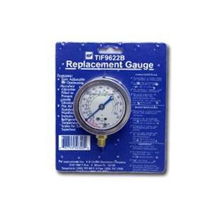TIF Instruments (TIF9622B) Low Side R12 and R22 Auto Glycerine Refrigerant Gauge
