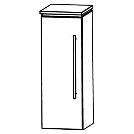 In Line (HBA513A5L/R) Bathroom Furniture Tall Sideboard, 30cm