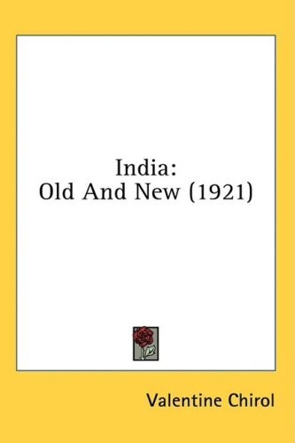 India, Old and New