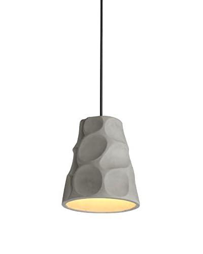 SuperStudio Lámpara De Suspensión Sarujyi Caves Gris Claro