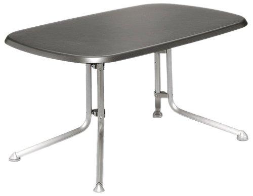 Kettler Alu-Klapptisch 140x90cm oval graphit/graphit günstig
