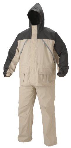 Coleman PVC/Nylon Rain Suit, Tan & Black, 5XL (Rain Suit 5xl compare prices)