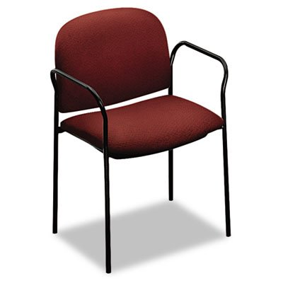 HON Company HON4051AB62T Multipurpose Chair- w- Arms- 23-.50in.x23-.25in.x30-.75in.- Burgundy