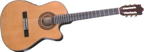 Ibanez Ga Series Ga5tce Thinline Classical Acoustic-Electric