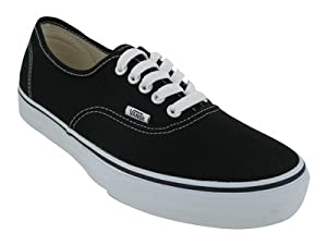 Vans Authentic Skate Mens Shoes Black Size 9