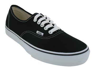 vans authentic black white sale