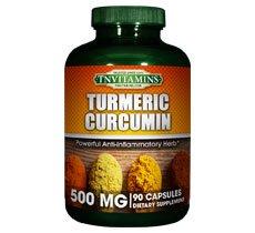 Turmeric Curcumin 500 Mg Capsules