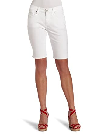 Levi's Women's 515 Bermuda, White Reflection,4