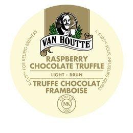 Van Houtte CHOCOLATE RASPBERRY TRUFFLE - 96 K-Cups for Keurig Brewers