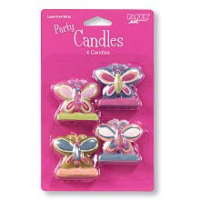 Mod Butterfly Molded Candle Set - 1
