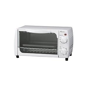 Amazon Com Melitta Tov350w 4 Slice Toaster Oven Broiler