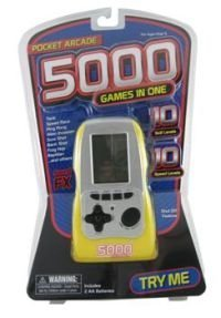 5000 Games In One Pocket Arcade Handheld Electronic Game - Various Colors Picture
