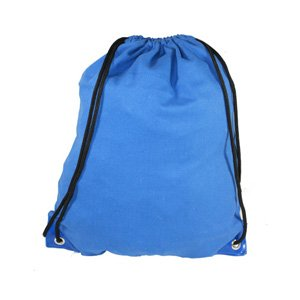 Royal Blue Drawstring Bag Backpack Rucksack School Book Bag Sport Gym Swim PE Football Karate Ju-Jitsu Running Swimming Boxing Judo Netball Bag 'Brand New'