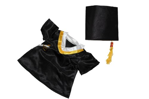 Graduation Cap & Gown Outfit Teddy Bear Clothes