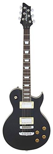 Aria PE350B-Chitarra Les Paul, colore: nero