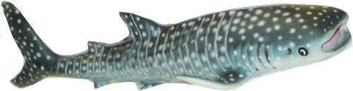 1 X Whale Shark- Blue - Lifelike Rubber Sea Life Replica 9 Inches
