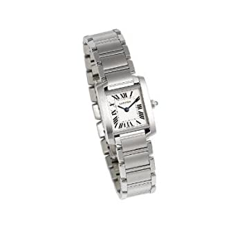 Women's W51008Q3 Tank Francaise Stainless Steel Watch by Cartier