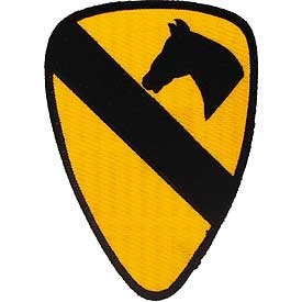 Amazon.com: US Army Military Large Stitch Only Patch - 1st Cavalry