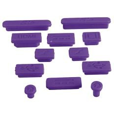 iFyx Anti Dust Silicone Port Plugs Cover for Apple Macbook Air 13