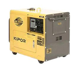 Kipor KDE5000TA 5000-Watt Diesel Generator With Electric Start