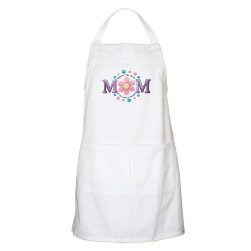 Apron White Simply The Best Mom In The Whole World