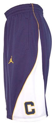Nike California-Berkeley Golden Bears 2012-2013 Adult Replica Basketball Shorts (Medium)