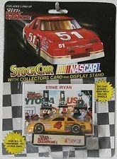 1992 NASCAR Road Champs . . . Ernie Irvan #4 Kodak Film Chevy Lumina 1/64 Diecast . . . Includes Display Stand