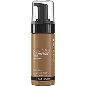 Paula's Choice SUN 365 Self-Tanning Foam - 5 oz