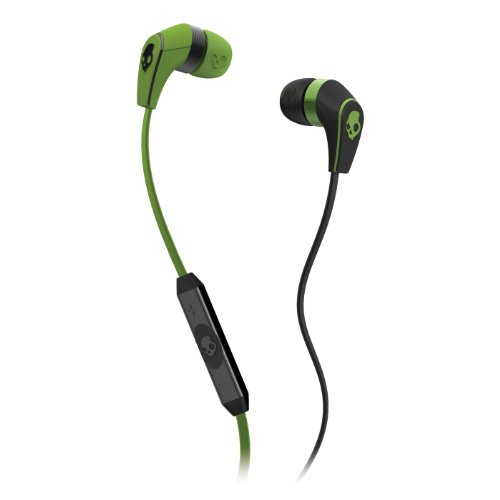 Skullcandy 50/50 Ear Buds With Mic3 Lurker Green/Black (2012 Color), One Size