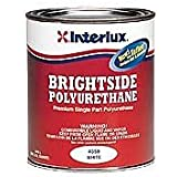 Interlux Brightside Topside Boat Paint Off White QUART