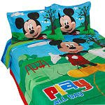 Mickey Mouse 8 Pc Full Bedding Set