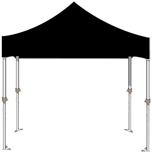 Kd Kanopy Xtf100K Xtf Aluminum Frame Indoor/Outdoor Portable Canopy, 10 By 10-Feet, Black