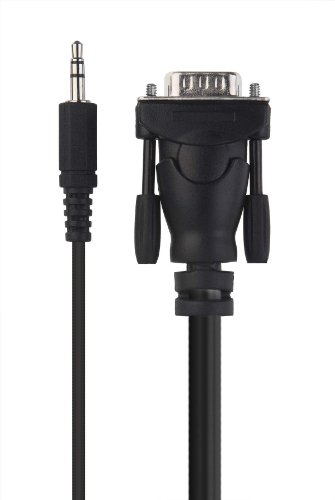 Belkin Micra Digital Laptop to TV VGA Audio Video Cable - F3S007-10 - 10 Feet