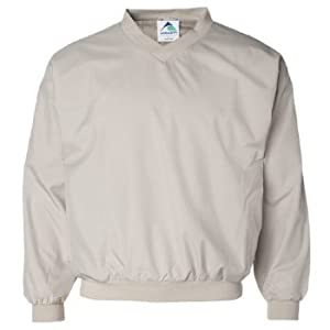 Augusta Adult Micro Poly Windshirt/Lined (Stone) (4X)