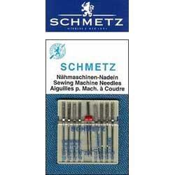 Schmetz Sewing Machine Needles - Combo Pack (Sewing Machine Twin Needles compare prices)
