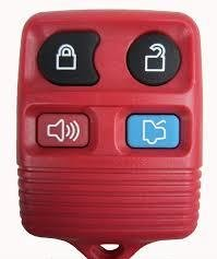 2005-2007 Ford Five Hundred **RED** Keyless Remote FCC ID: CWTWB1U331 / CWTWB1U345