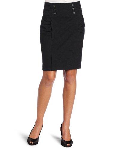 My Michelle Juniors Pencil Skirt, Black, 9 Image