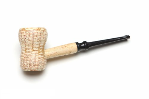 Missouri Meerschaum Great Dane Egg Corncob Tobacco Pipe Straight