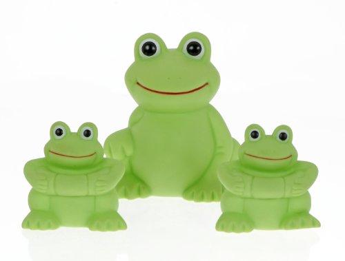 Imagen de Vital de la familia Baby Play 'n' Splash, ranas, 3 Pack