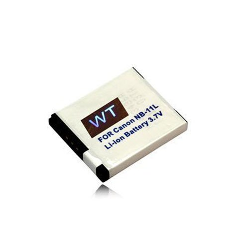 weltatec Qualitäts-Set 2teilig bestehend aus: weltatec Qualitätsakku Akku Accu Digicam als Bundle mit Kingston SDHC Speicherkarte 16GB kompatibel mit Canon Ixus 125 HS / 240 HS / NB-11L Digitalkamera - Hochleistungsakku Li-ion Akku Ersatzakku Kamera-Akku und Speicherkarte Speicherchip SDHC-Card 16GB - (nur Original weltatec mit Hologramm)
