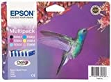 Epson C13T08074011 - T0807 Multipack - Black, yellow, cyan, magenta, light magenta, light cyan - original - blister - ink cartridge - for Stylus Photo P50, PX650, PX700, PX710, PX720, PX730, PX800, PX810, PX820, PX830, RX585