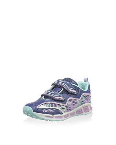 Geox Zapatillas J Shuttle Girl B Azul / Rosa