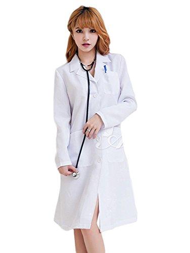女医さん 風 白衣 コスプレ 衣装 大人用コスチューム 白 レディース z1710