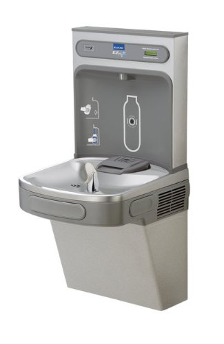 Elkay EZH2O Drinking Fountain and Bottle Filling Station with Glass Filler (Elkay Water Bottle Filler compare prices)