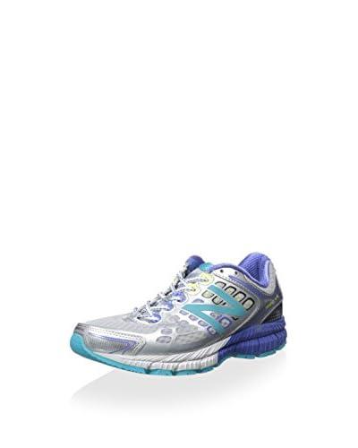New Balance Women's Running Sneaker  [Silver/Blue]