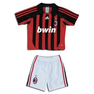 Adidas Mini-kit 694975-acm black/acm red of AC Milan